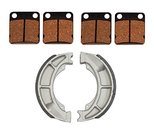 14414131, Front Brake Pads & Rear Brake Shoes Suzuki Ozark 250 (Factory Front Brake Pad Pads)
