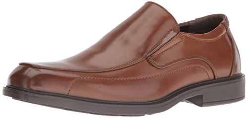 Kenneth Cole Unlisted Men's On a Mission Slip-On Loafer, Cognac, 8.5 M US