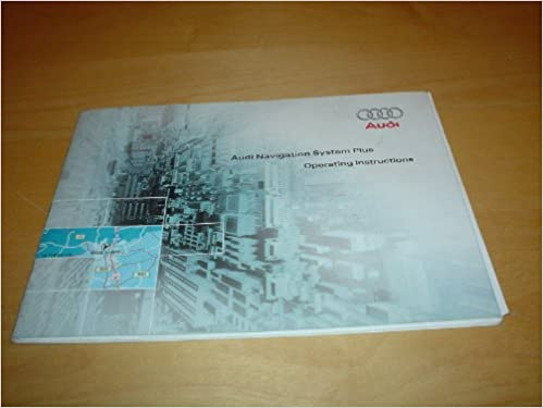 Audi satnav navigation system plus owners instruction handbook.