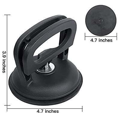 Kribin Car Dent Remover - Aluminum Car Dent Puller Suction Cup Handle Lifter for Heavy Duty Glass Lifting: Automotive