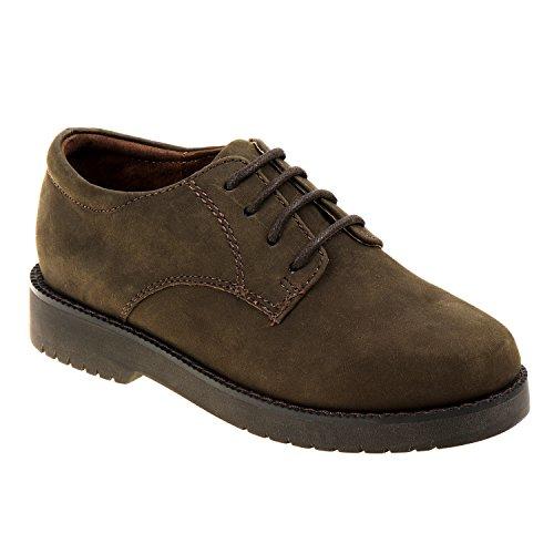 Academie Gear Mens James,Olive Leather,US 7.5 M (11.5)