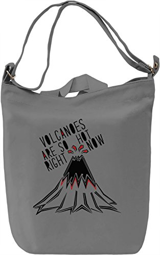 Volcanoes Are So Hot Right Now Borsa Giornaliera Canvas Canvas Day Bag| 100% Premium Cotton Canvas| DTG Printing|