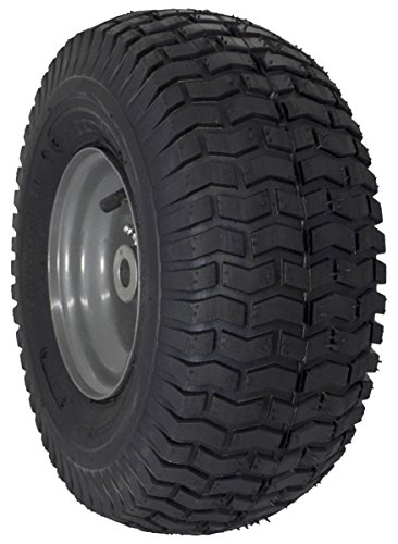 "MARASTAR 15x6.00-6"" Front Tire Assembly Replacement for Craftsman Riding Mowers (21446)"