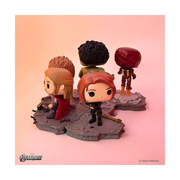 41Lu6kWKlaL Funko Pop! Deluxe, Marvel: Avengers Assemble Series - Black Widow, Amazon Exclusive, Figure 5 of 6