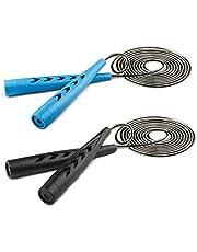 Fengzio springtouw voor kinderen, springtouw met teller & comfortabele handgrepen Speed Rope Skipping Rope voor fitness en boxen