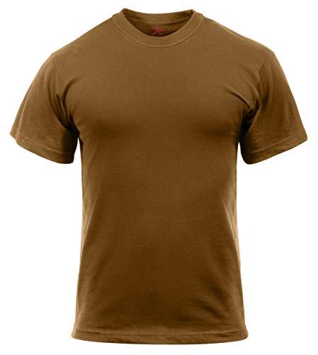 Rothco T-Shirt - Poly/Cotton/Brown