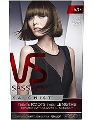 Vidal Sassoon Salonist Permanent Hair Color Kit, 5/0...