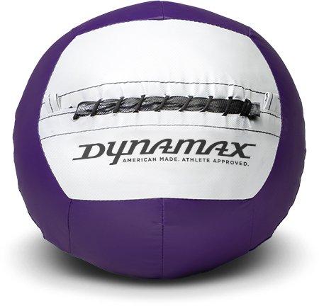 Dynamax 14lb Soft-Shell Medicine Ball Purple/Grey