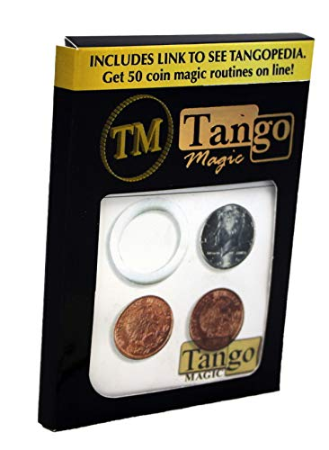 Tango Scotch and Soda Mexican Coin Magic Trick Coin Magic Trick Revealed