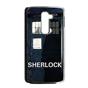 Perfect Arts Hot Movie Sherlock Holmes Unique Custom LG G2 Best Durable Plastic Cover Case by ruishername