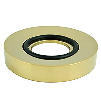 Elements of Design EV8022 Faucetier Mounting Ring for Vessel Sink , Polished Brass