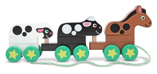 Melissa & Doug Pull-Along Farm