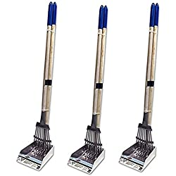Spotty Metal Tray and Rake Scooper (3 Pack)