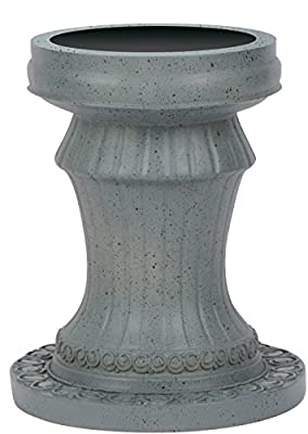 """11.5'' Pedestal Gazing Ball Stand (Resin) for 10"""" Gazing Ball by Home & Comfort"""