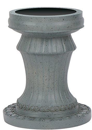 11.5'' Pedestal Gazing Ball Stand (Resin) for 10