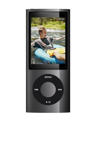 Apple Ipod Nano 8 Gb 5Th Generation  Black    Discontinued By Manufacturer