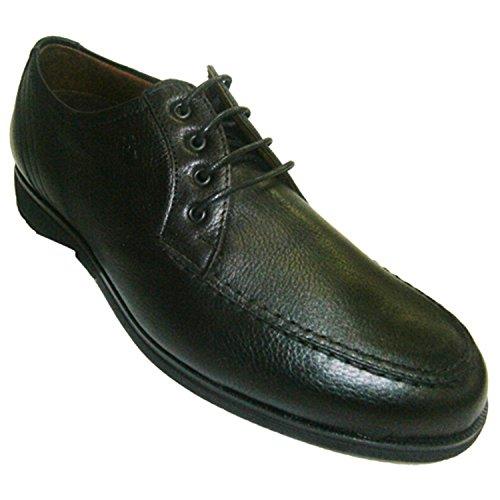Lacets de chaussures de sol en caoutchouc Pitillos en noir