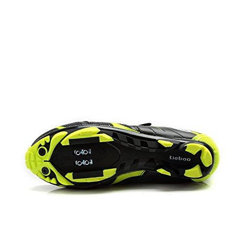 Weideng Road Racing TPU Sohlen Mountainbiking Schuhe Radfahren Sport Atmungsaktive MTB Radfahren Schuhe Grün