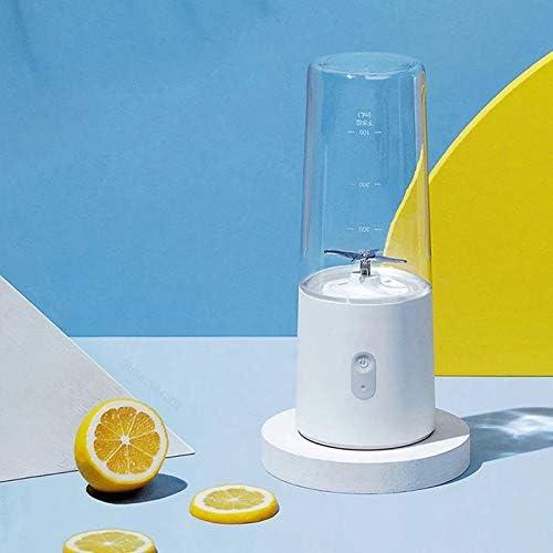 LICHAO Mélangeur Portable pour jus, Shakes et Smoothies, Rechargeable par USB, sans BPA, 350 ML, pour la Salle de Sport au Bureau et à l'extérieur
