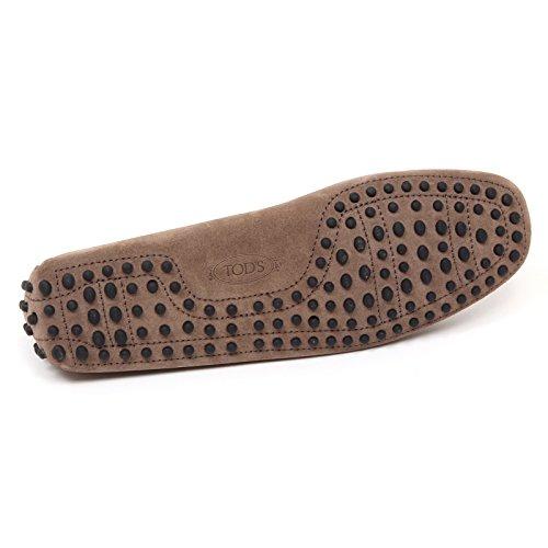 D0014 mocassino uomo TODS NEW LACCETTO scarpa verde/marrone loafer shoe man verde/marrone