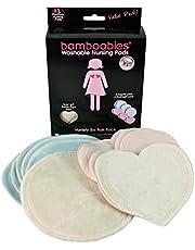 bamboobies Washable Nursing Pads, 3 Regular Pairs & 3 Overnight Pair, Variety Pack