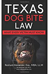 Texas Dog Bite Law Paperback