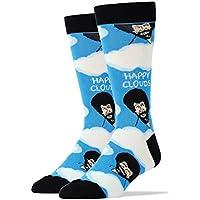 OOOH YEAH de los hombres lujo calcetines de algodón peinado Bob Ross...