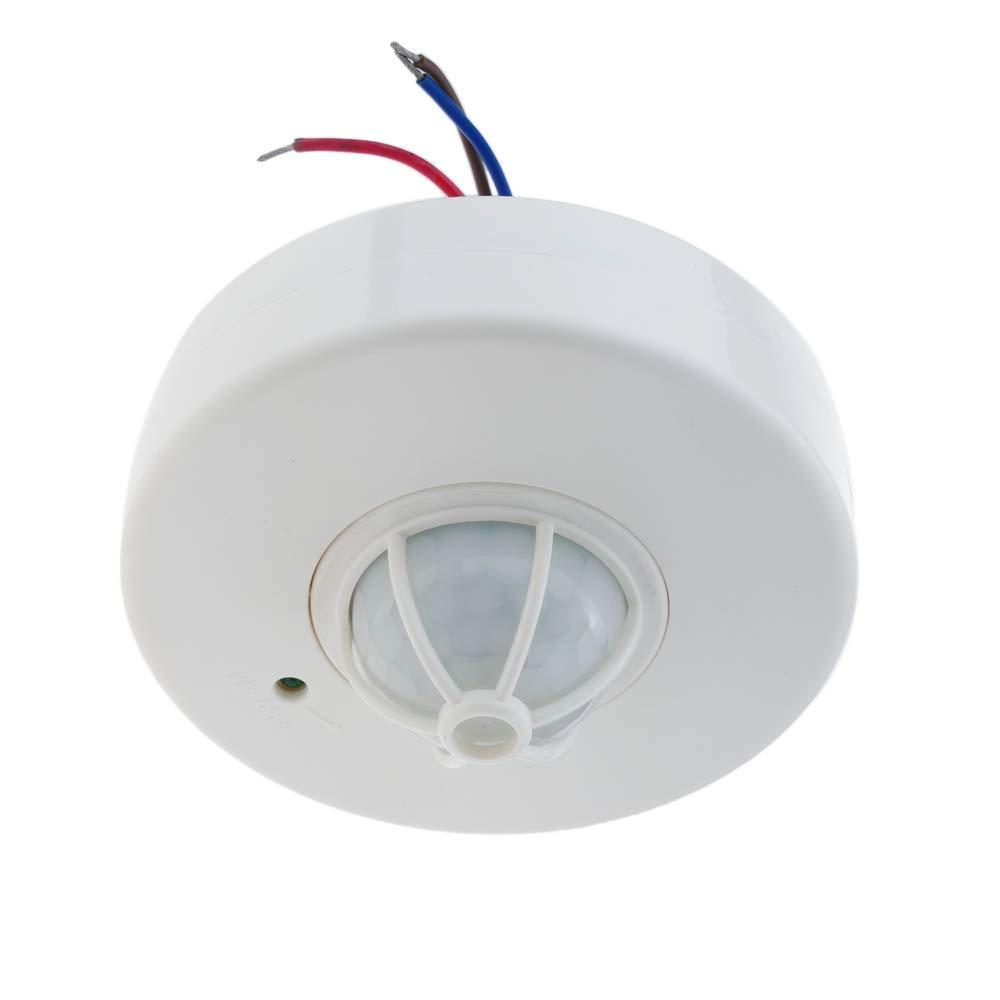 BeMatik - Detector de movimiento por infrarrojos de techo con un sensor: Amazon.es: Electrónica