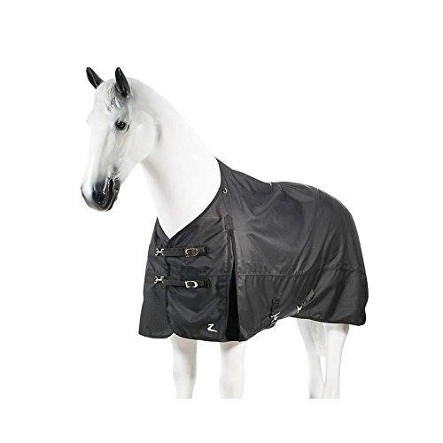 Horze Nevada 1200D Waterproof Turnout Sheet - Black - Size: 84 by Horze Equestrian