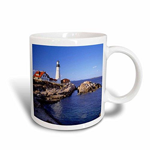 3dRose mug_90758_2 Maine, Portland Head Lighthouse-Us20 Rer0011-Ric Ergenbright, Ceramic Mug, - Portland Maine Outlets