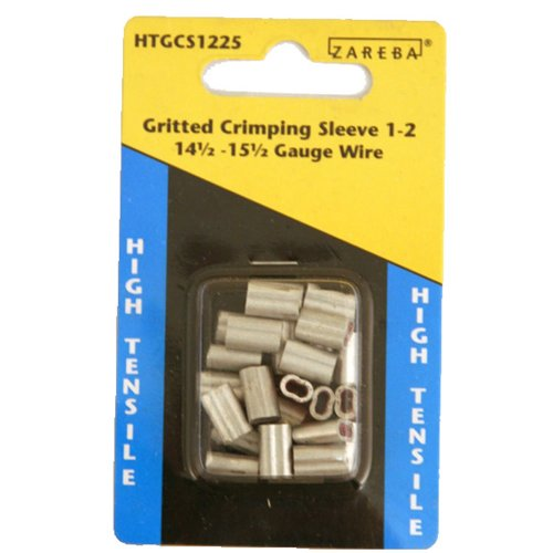 Zareba HTGCS1225 Crimping Sleeve 1-2 (1 1 2 2 Store And)