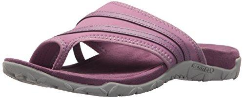 Merrell Women's Terran Ari Wrap Sport Sandal, Very Very Grape, 6 Medium US
