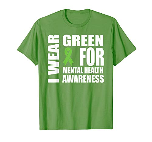 Mental Health Awareness Green Ribbon Support