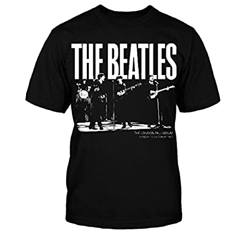 The Beatles T Shirt Palladium 1963 Official Kids New Black (Ages 5-12yrs) (Beatles Gifts For Kids)
