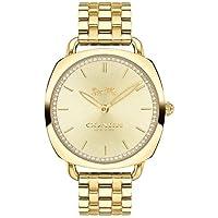 Relógio Coach Feminino Aço Dourado - 14503011