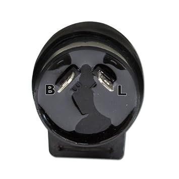 12V Blinkerrelais Blinkergeber 2-polig Motorrad Blinker Motorrad LED Blinker