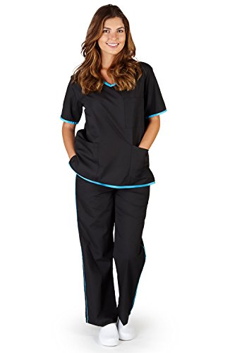 Natural Uniforms Womens Contrast Scrub