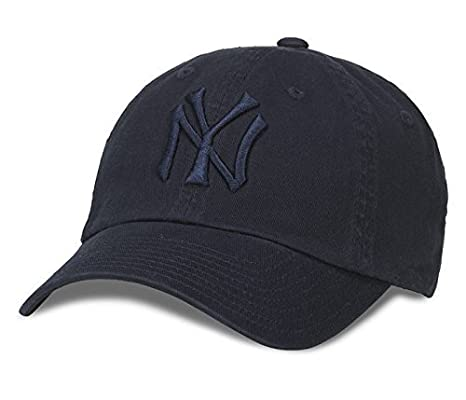 d37c944bc American Needle New York Yankees MLB Tonal Ballpark Cotton Twill Adjustable  Dad Hat