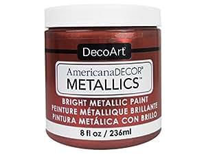 Decoart DECADMTL-36.10 Ameri Deco Mtlc 8oz Copper Americana Decor Metallics 8oz Copper