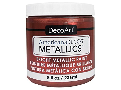 Decoart DECADMTL-36.10 Ameri Deco Mtlc 8oz Copper Americana Decor Metallics 8oz Copper