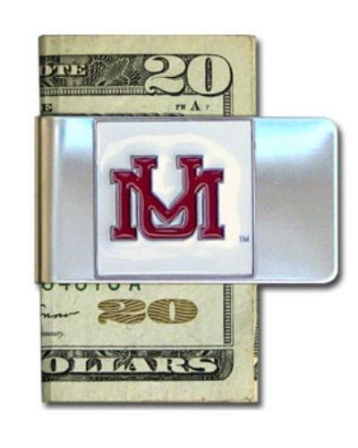 Montana Grizzlies Steel Money Clip