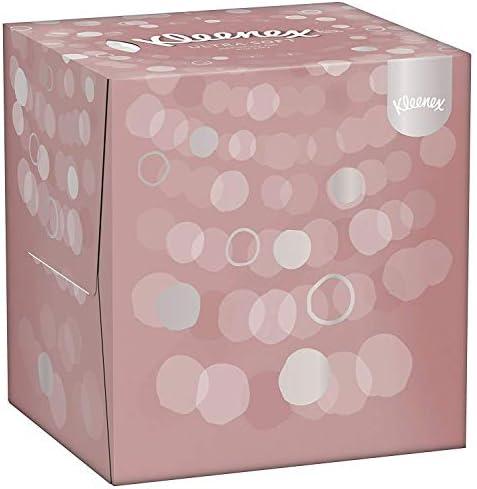 Kleenex Würfelbox Ultra Soft Taschentücher, 56 Stück