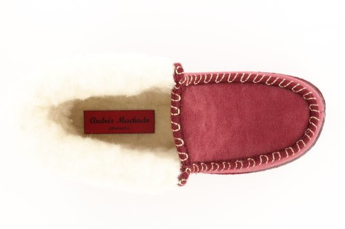 nbsp;made nbsp;zapatillas 34 nbsp;– De Talla Cordero Rojo Lana In nbsp;– Machado Eu nbsp;27902 nbsp;– Color Forro Andres Tobillo Alto Spain wTq7UInxP8