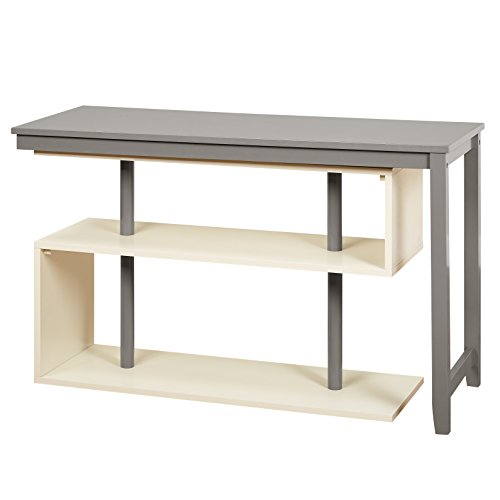 Cheap Target Marketing Systems 35007GRY Webester Collection Swing Desk, White/Gray