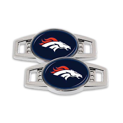 NFL Denver Broncos Shoe Charm, 2-Pack - Denver Broncos Charm