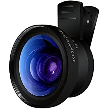 Amazon.com: Cell Phone Camera Lens - TURATA 2 in 1 Professional HD ...