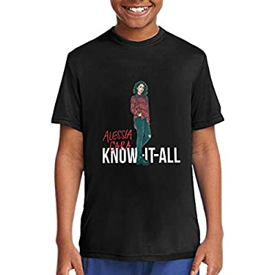 Alessia Cara Cotton T-Shirts Young Boys Classic Athletic T-Shirt