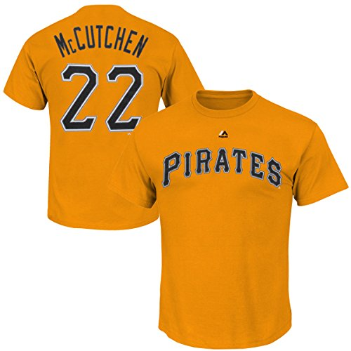Majestic Pittsburgh Pirates Andrew McCutchen Tee - Boys 8-20…