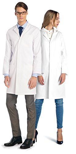 Knee Length Lab Coat - 3