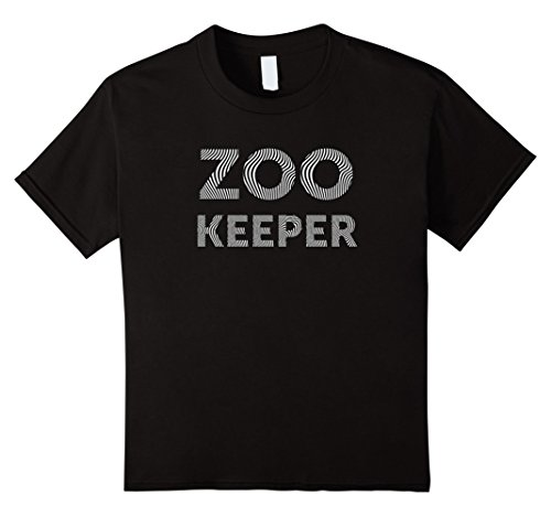 Child Zookeeper Costume (Kids zoo keeper costume shirt for animal lovers 4 Black)